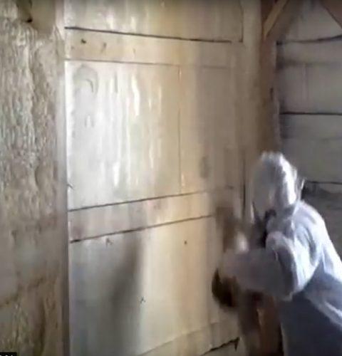 утепление фасадов пенополиуретаном