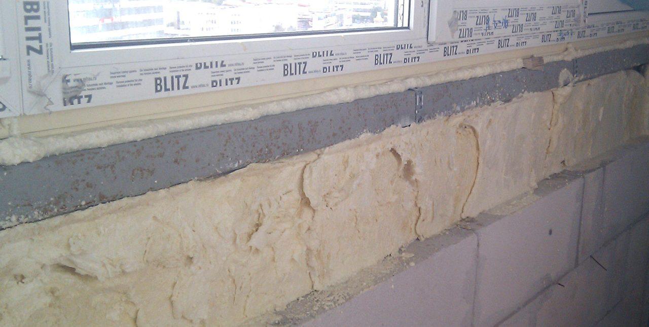 утепление балкона пенополиуретаном