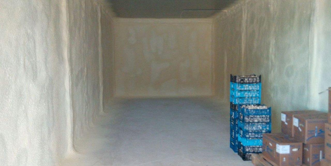 утепление холодильных камер