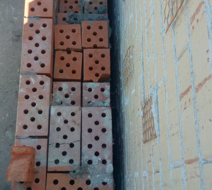 Заливка ппу в стены